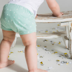 Bottoms: shorts, skirts and diaper covers